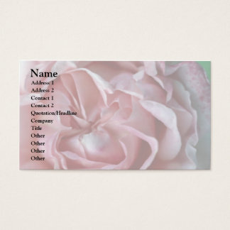 Closed Flower Business Card