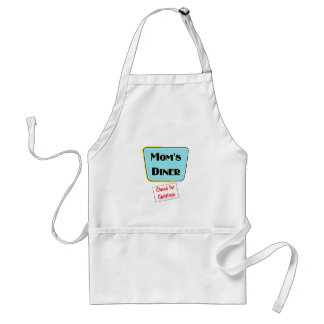 Closed for Christmas Mom's diner t-shirts & gifts. Adult Apron