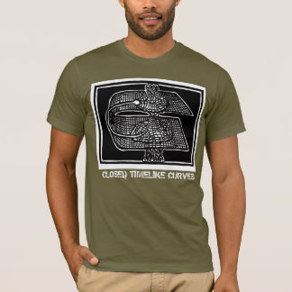 Closed Timelike Curves design by ScienceFrontiers T-Shirt