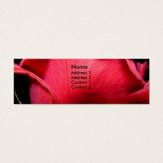 Closer, Mini Business Card