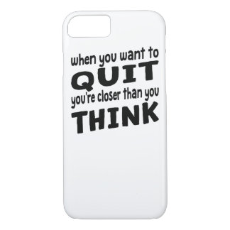 Closer Than You Think iPhone 7 Case