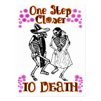 Closer to Death Postcard