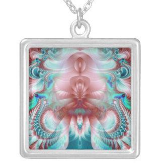 Closer to Heaven Square Pendant Necklace