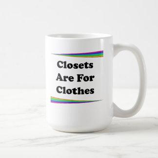 Closet Are For Clothes Coffee Mug