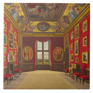 Closet del rey, castillo de Windsor, del 'Res real Azulejo Cuadrado Grande