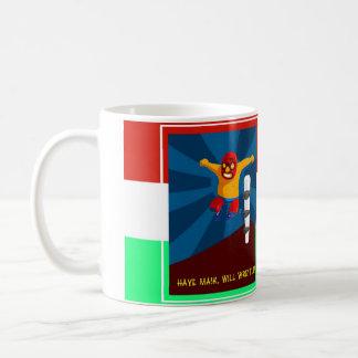 Closet Luchador Coffee Mug