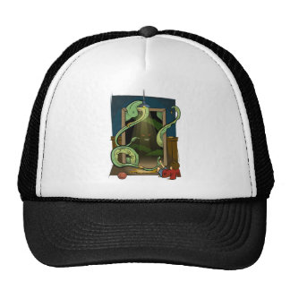 Closet Monster Illustration by Daily Undead Trucker Hat