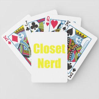 Closet Nerd Deck Of Cards