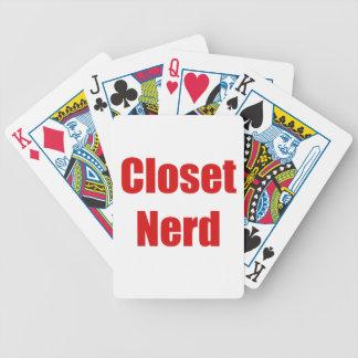 Closet Nerd Poker Cards
