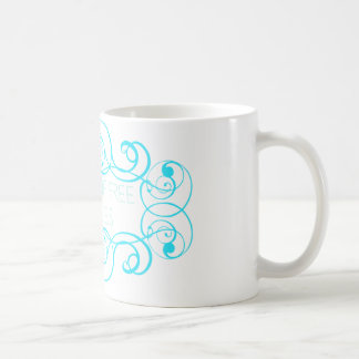 Closet of Free Samples Blue Line Coffee Mug