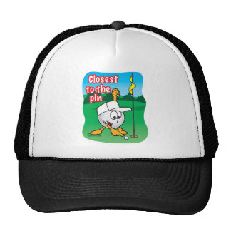 Closet To The Pin Golf Prize Trucker Hat