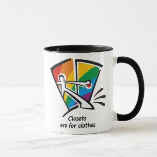 Closets are for Clothes Mug