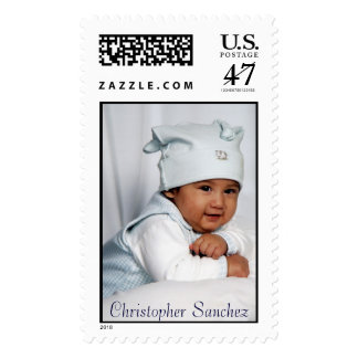closeup, Christopher  Postage