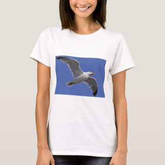 Closeup herring gull in fly T-Shirt