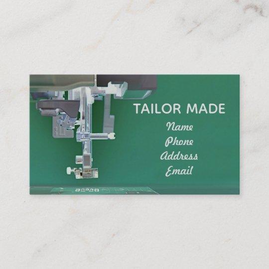 Closeup Image Of Modern Sewing Machine Business Card Zazzle Unique Modern Sewing Machine