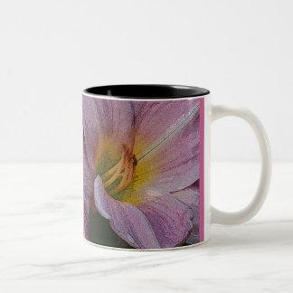 Closeup Lily Floral mug