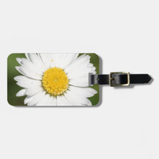 Closeup Of A Beautiful Yellow And Wild White Daisy Bag Tag