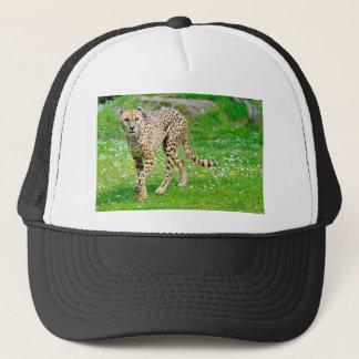 Closeup of African Cheetah Trucker Hat
