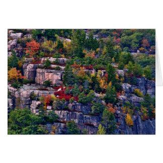 Closeup of Beehive Mountain Card