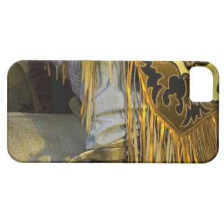 Closeup of Boots & Chaps iPhone SE/5/5s Case