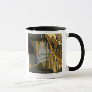 Closeup of Boots & Chaps Mug