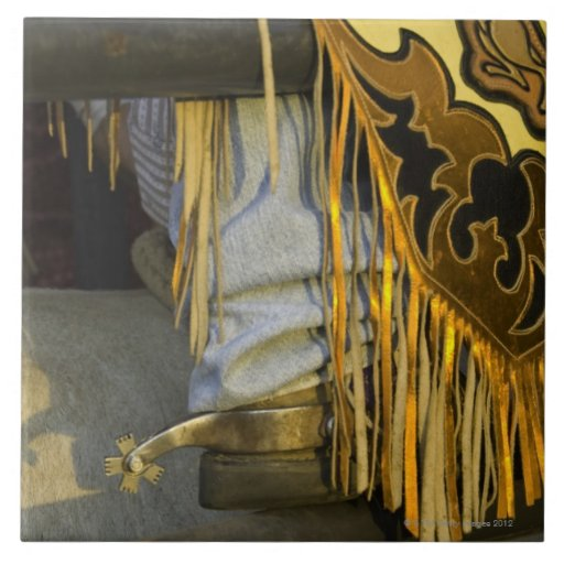 Closeup of Boots & Chaps Tile