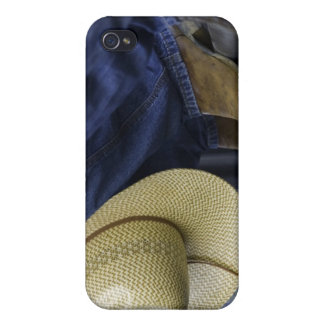 Closeup of Boots & Hat iPhone 4/4S Cover