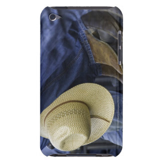 Closeup of Boots & Hat iPod Touch Cover