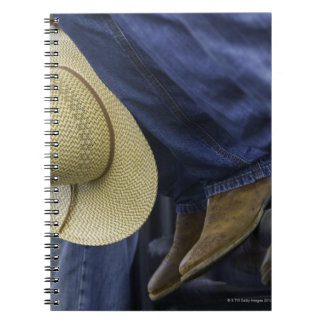 Closeup of Boots & Hat Notebook