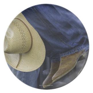 Closeup of Boots & Hat Plates