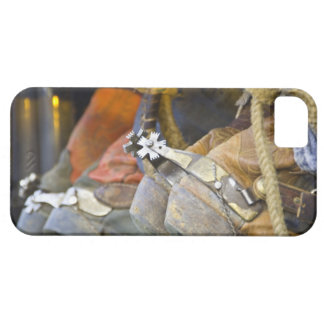 Closeup of Boots & Spurs 2 iPhone SE/5/5s Case