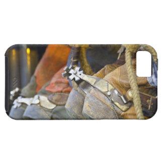Closeup of Boots & Spurs iPhone SE/5/5s Case