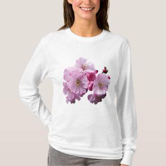 Closeup of Cherry Blossoms Ladies T-Shirt