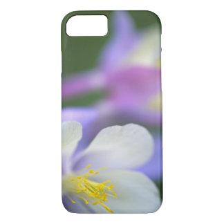 Closeup of Colorado Columbine flower. iPhone 8/7 Case