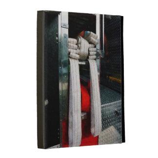 Closeup of Fire Hoses iPad Case