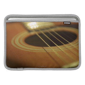 Closeup of Guitar MacBook Air Sleeves