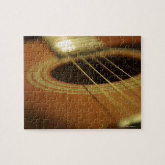Closeup of Guitar Jigsaw Puzzles