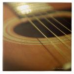 Closeup of Guitar Tiles