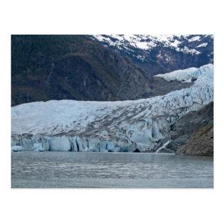 Closeup of Mendenhall Glacier - Juneau, Alaska Post Card