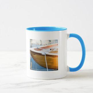 Closeup On Tied Up Boat Mug
