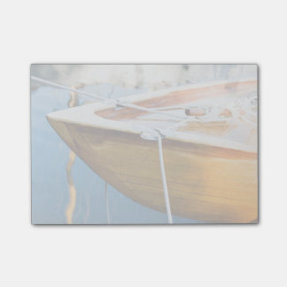 Closeup On Tied Up Boat Post-it® Notes