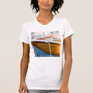Closeup On Tied Up Boat T-Shirt