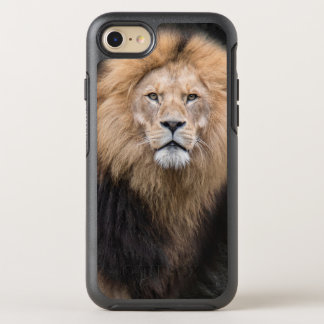 Closeup Portrait of a Male Lion OtterBox Symmetry iPhone 8/7 Case