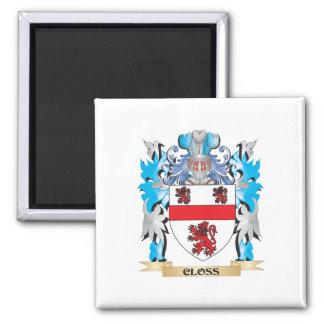 Closs Coat of Arms - Family Crest Refrigerator Magnet