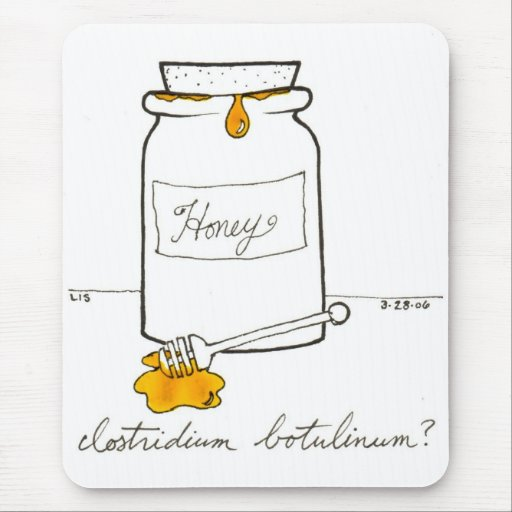 Clostridium Botulinum mousepad