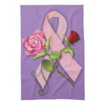 Closure for the Breast Cancer Survivor Kitchen Towel