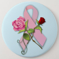 Closure for the Breast Cancer Survivor Pinback Button