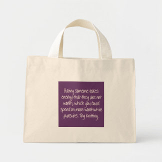 Closure: Now I remember why we broke up Mini Tote Bag