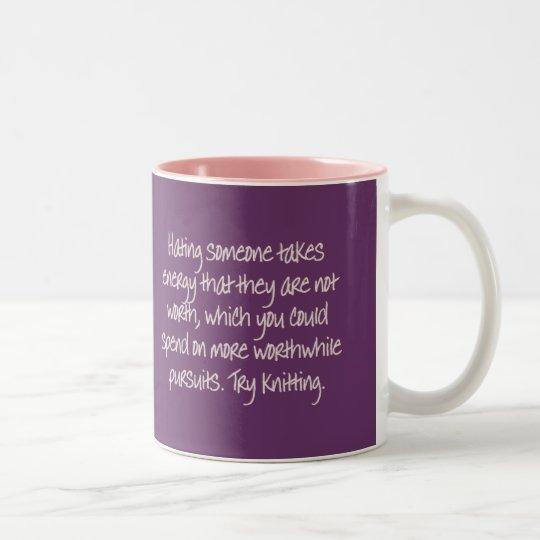 Closure: Now I remember why we broke up Two-Tone Coffee Mug