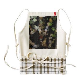 Cloth cross patches zazzle HEART apron